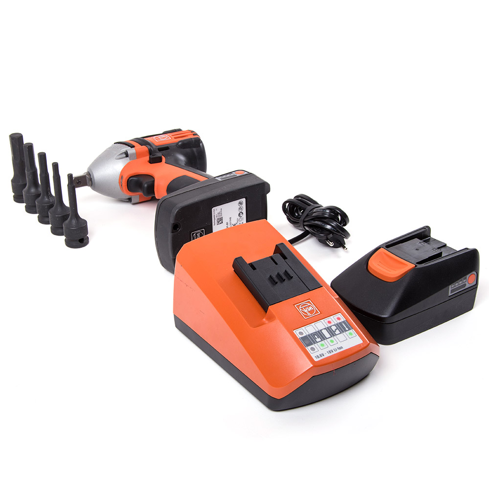 Case with FEIN-4-level cordless impact screwdriver Ø 172
